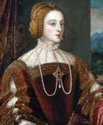 Isabel de Portugal por Tiziano