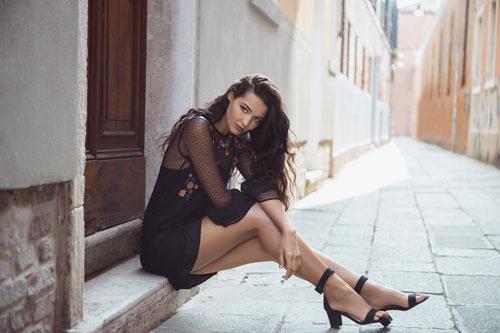 Bella mujer italiana