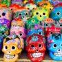 Calaveras aztecas mexicanas