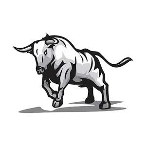 Diseño toro para tatuaje