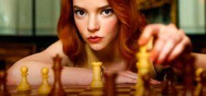 Gambito de dama con Anya Taylor Joy