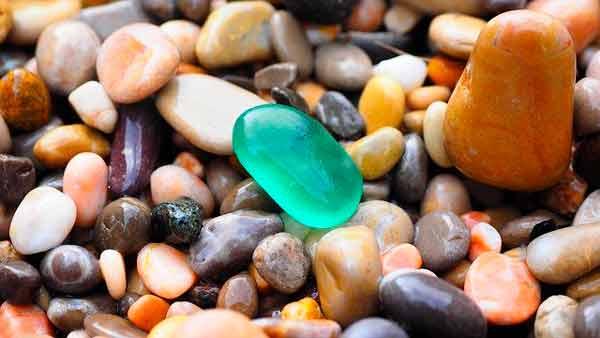 Grupo de piedras reunidas