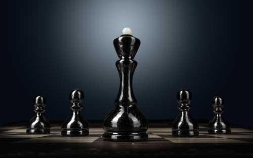 Imagen de piezas de ajedrez