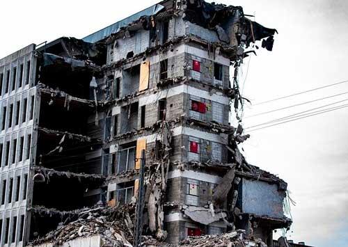 Ruinas de un edificio