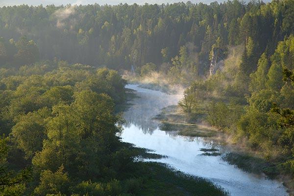 Significado de soñar con agua de río